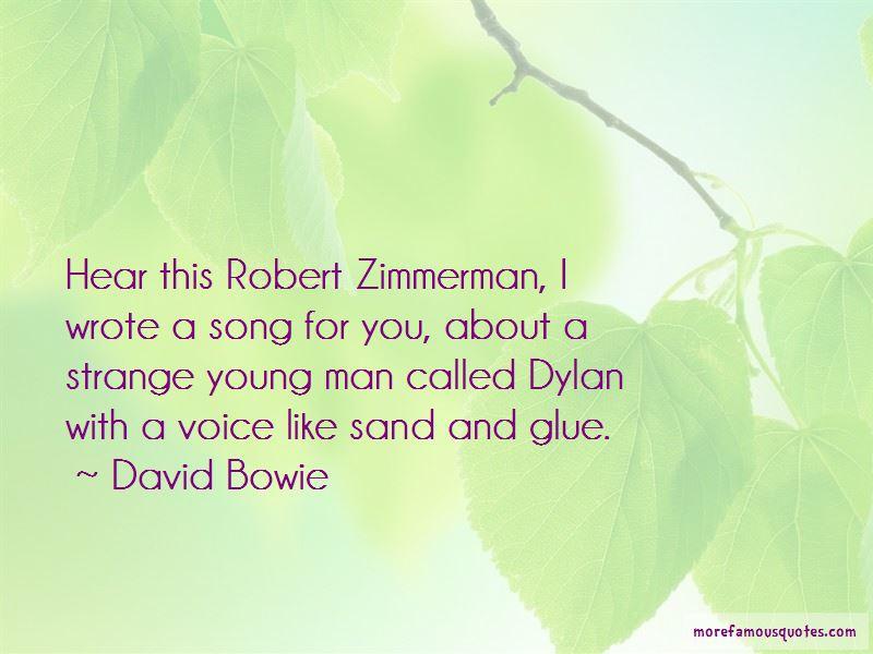 Robert Zimmerman Quotes