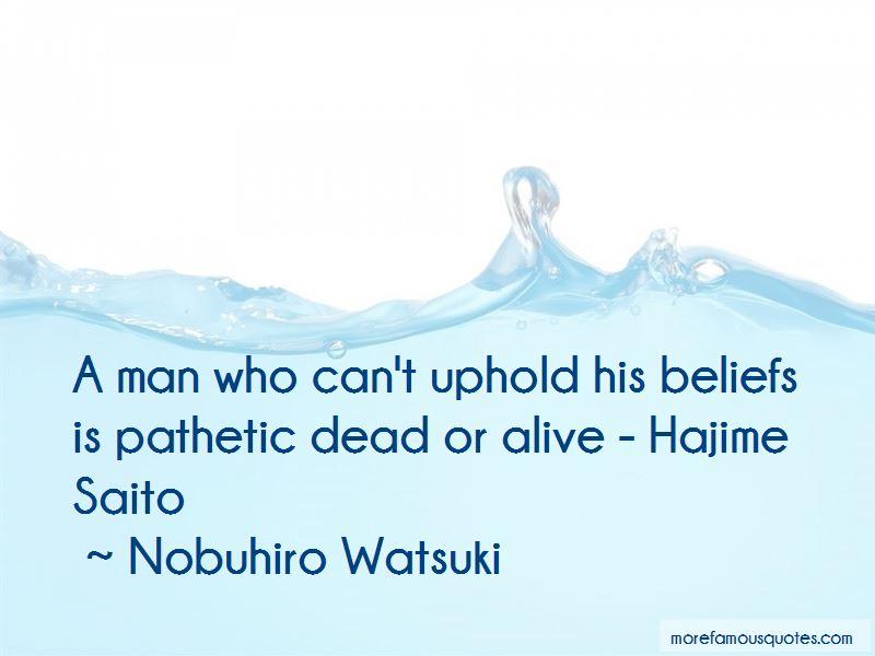 Saito Hajime Quotes
