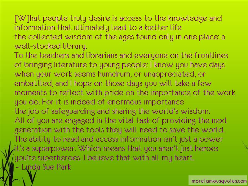 Sharing Knowledge Is Power Quotes Top 4 Quotes About Sharing