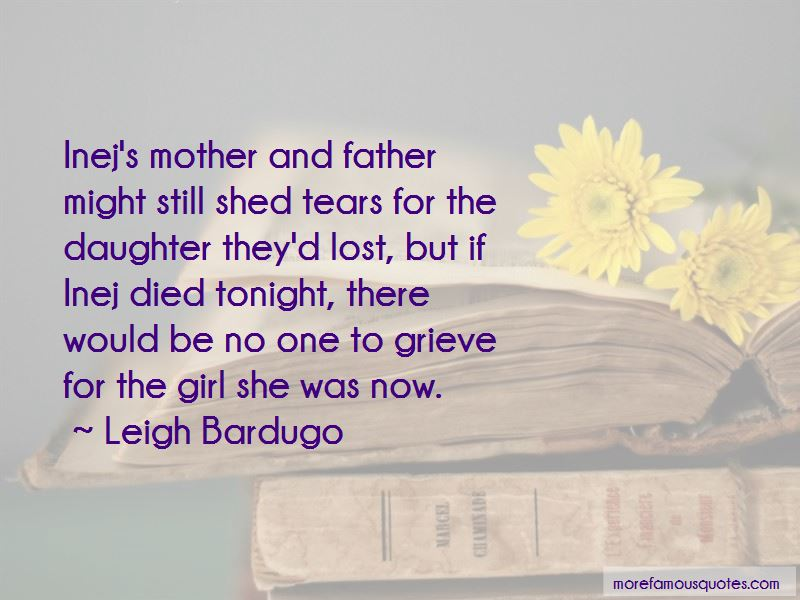 Shed Tears Quotes