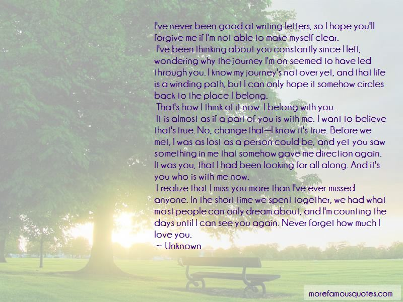 Short Love Letters Quotes
