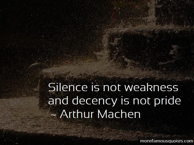 Silence For Weakness Quotes Pictures 3