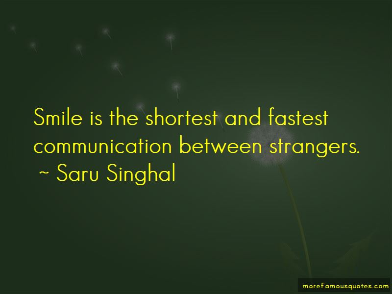 Smile At Strangers Quotes Pictures 4