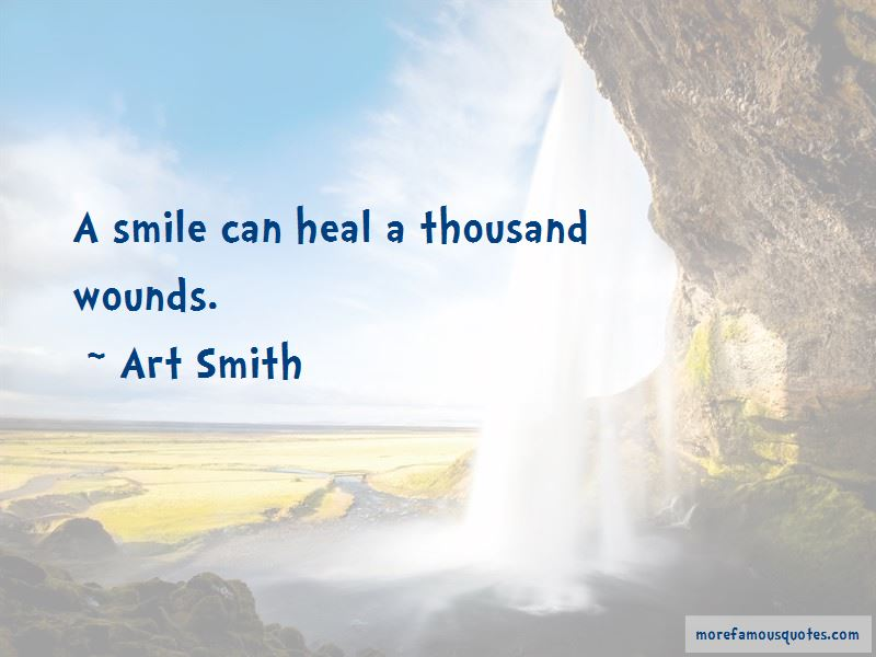 Smile Can Heal Quotes