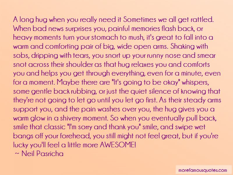 Sometimes I Just Need A Hug Quotes Pictures 3