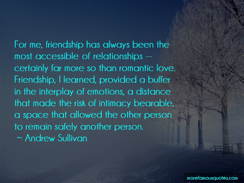 Space In Friendship Quotes Pictures 3