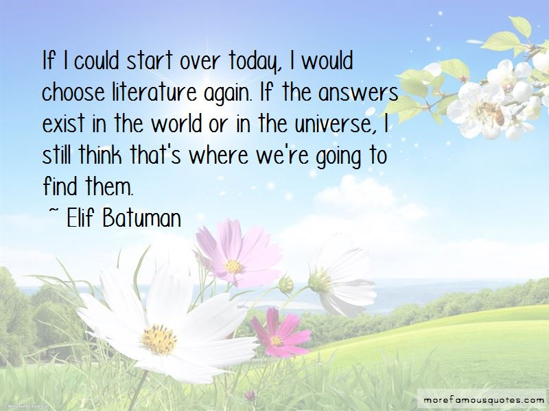 Start Over Today Quotes