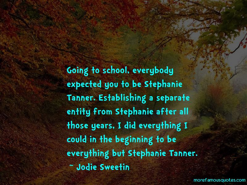 Stephanie Tanner Quotes