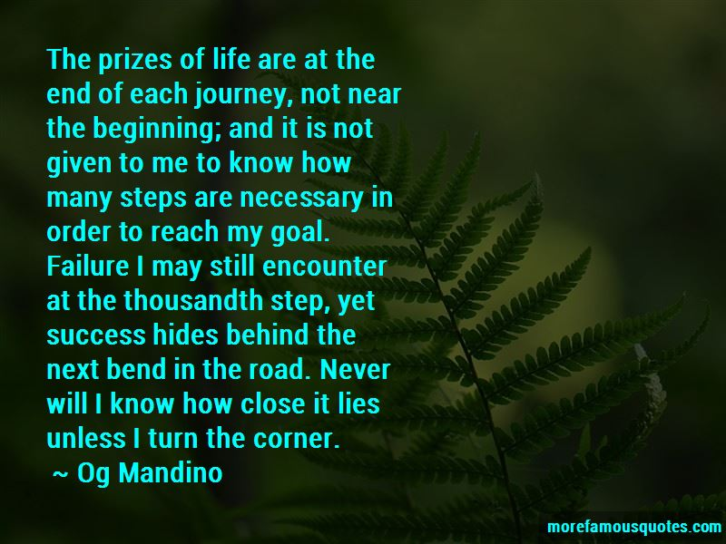Steps To Success In Life Quotes