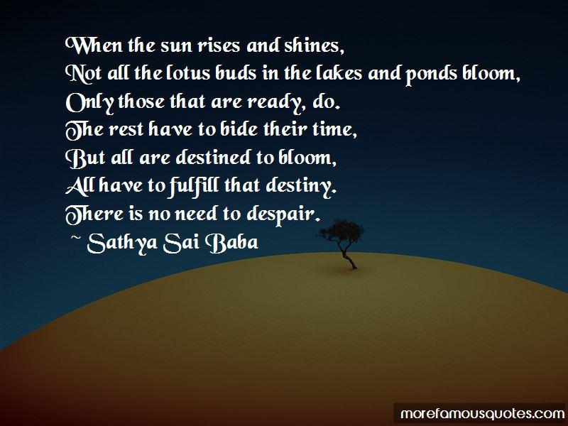 Sun Rises Quotes