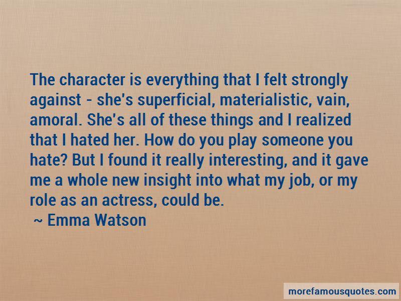 Superficial Materialistic Quotes