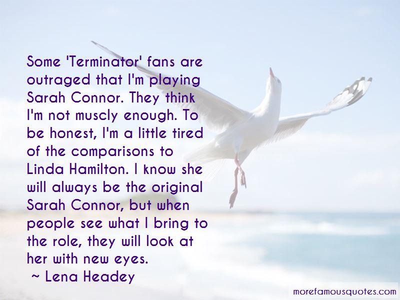 Terminator Sarah Connor Quotes