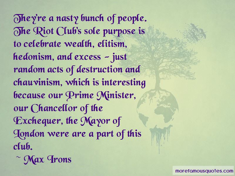 The Riot Club Quotes