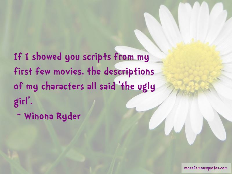 The Ugly Girl Quotes: top 32 quotes about The Ugly Girl from ...