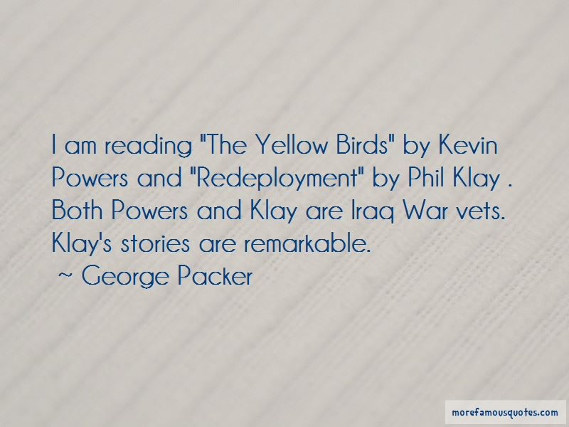 The Yellow Birds Kevin Powers Quotes