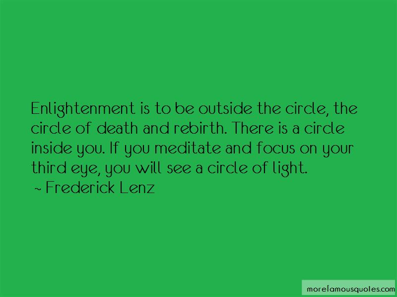Third Eye Enlightenment Quotes