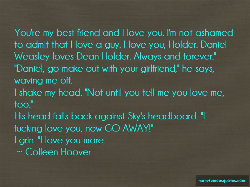 To My Girlfriend Love Quotes