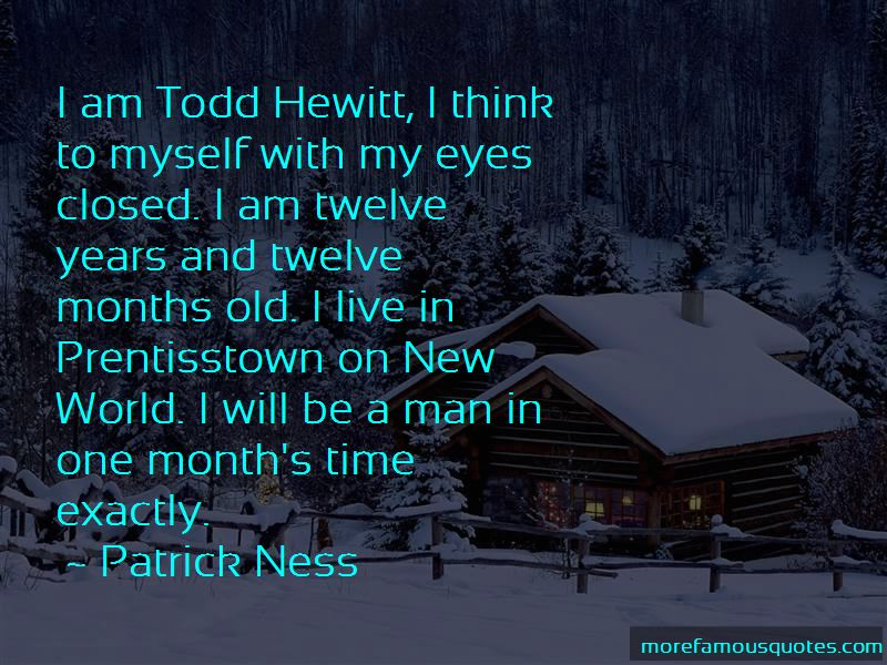 Todd Hewitt Quotes Pictures 2