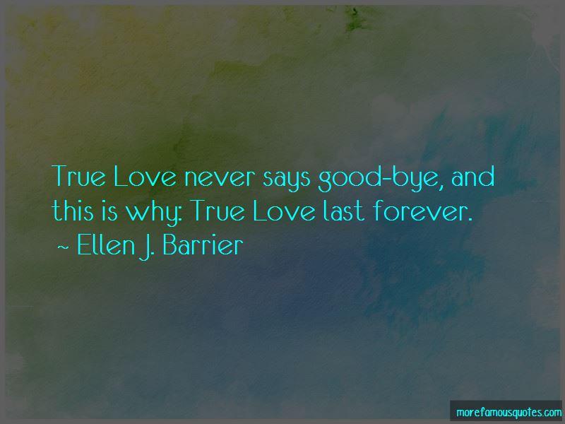 True Love Last Forever Quotes