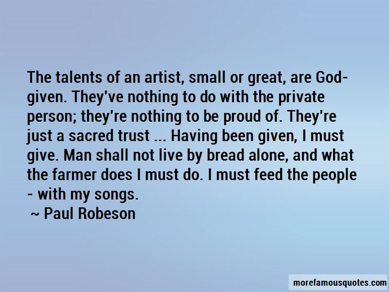 Trust God Not Man Quotes