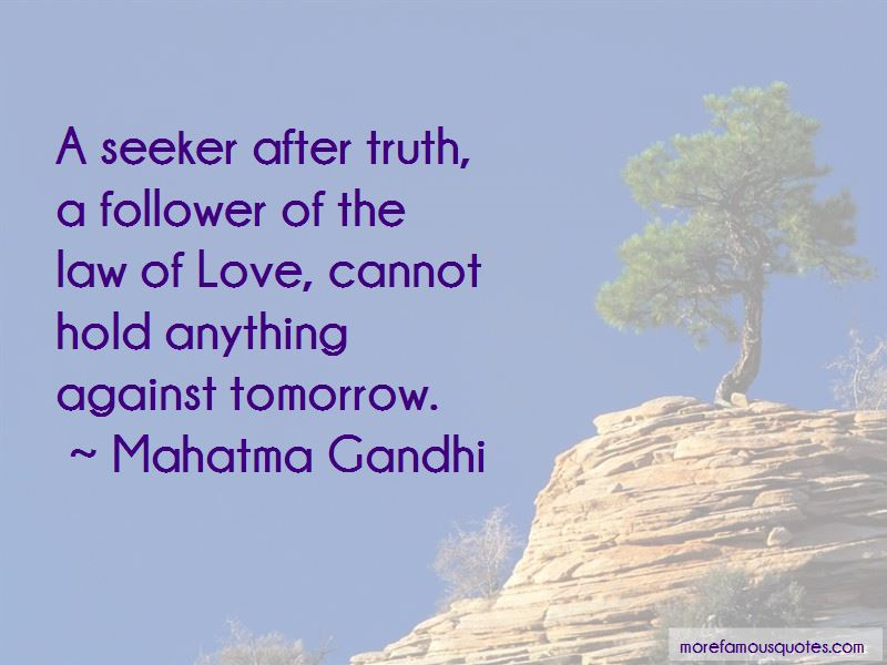 Truth Follower Love Quotes