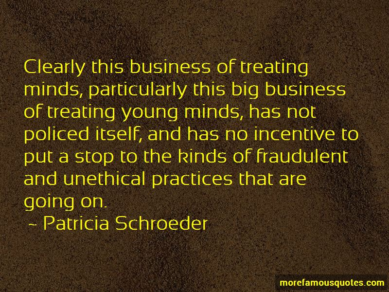 Unethical Practices Quotes