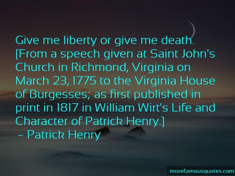 Virginia House Of Burgesses Quotes