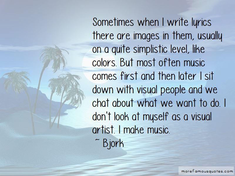 Visual Artist Quotes