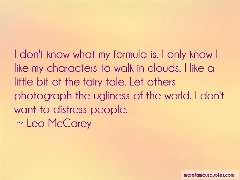 Walk On The Clouds Quotes