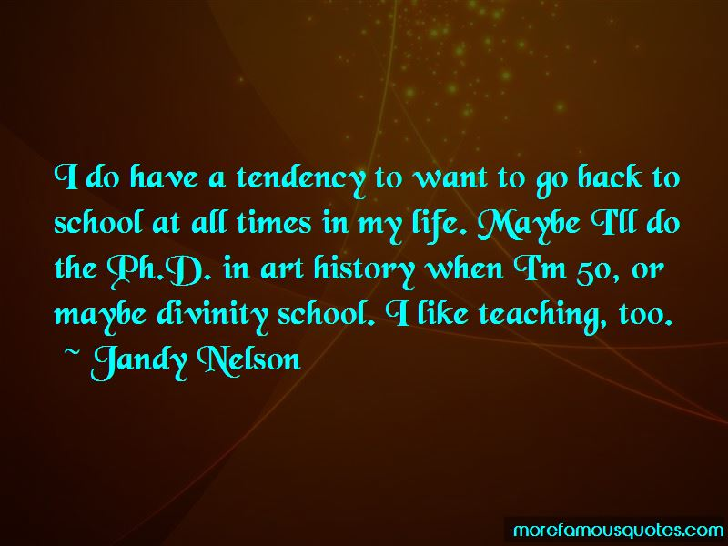 Want To Go Back To School Quotes