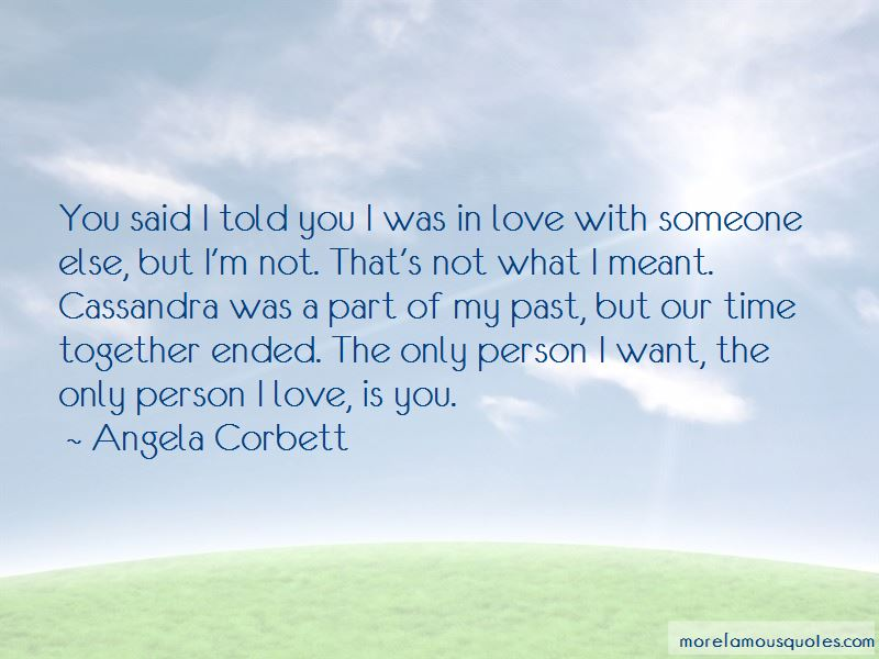 We Are Meant To Be Together Love Quotes