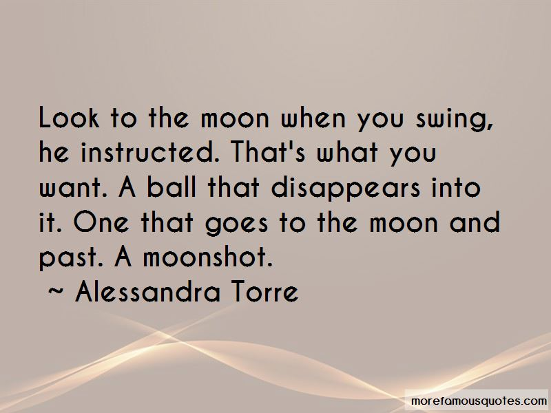 When You Look At The Moon Quotes Pictures 2