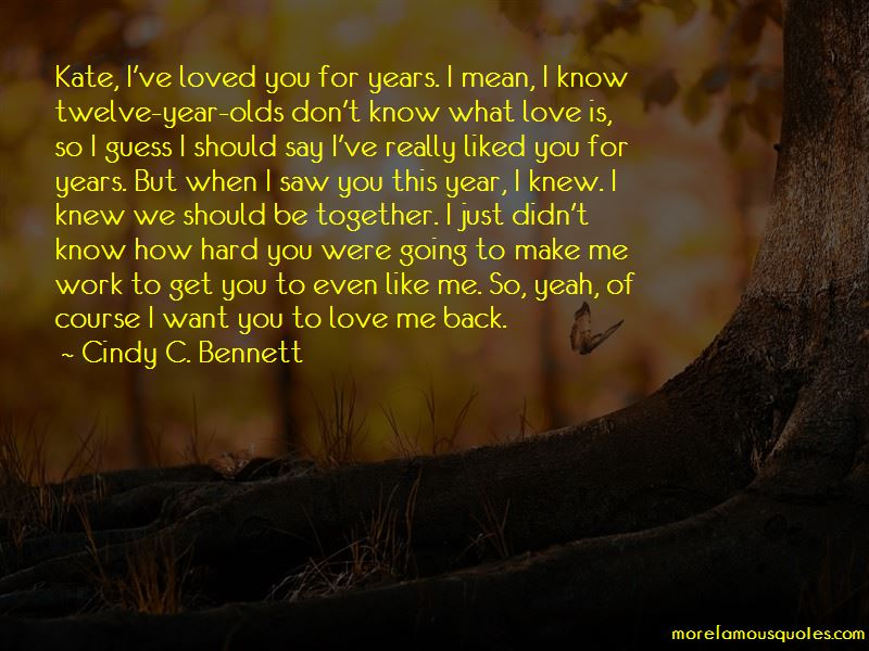 When You Say I Love You Mean It Quotes