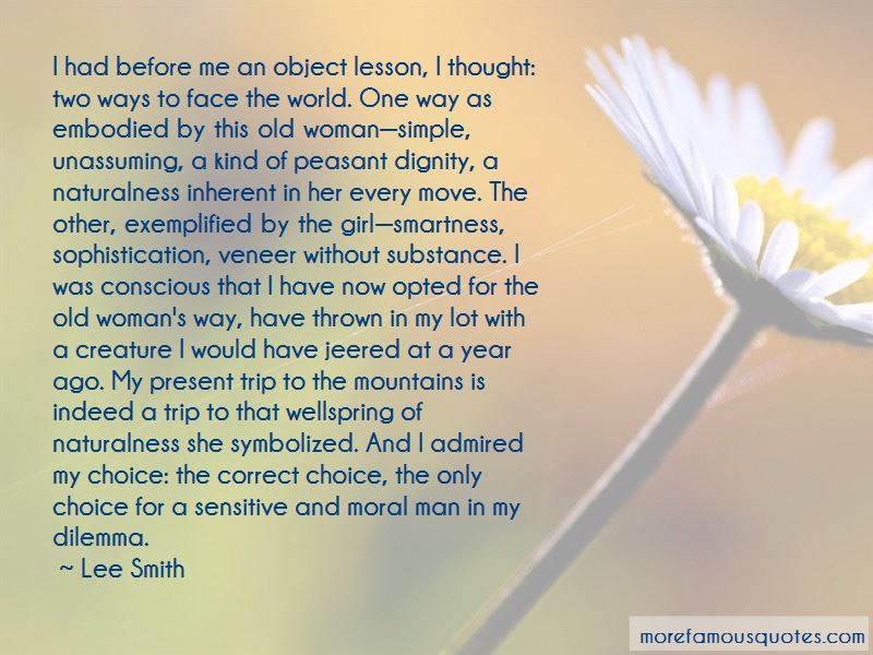 Woman With Substance Quotes