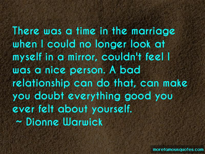 You Make Me Feel Good About Myself Quotes