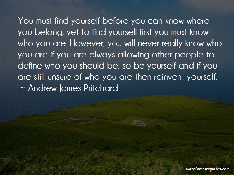 You Must Know Quotes