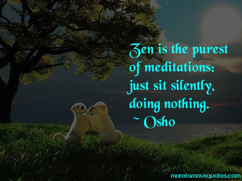 Zen Nothing Quotes Top 38 Quotes About Zen Nothing From