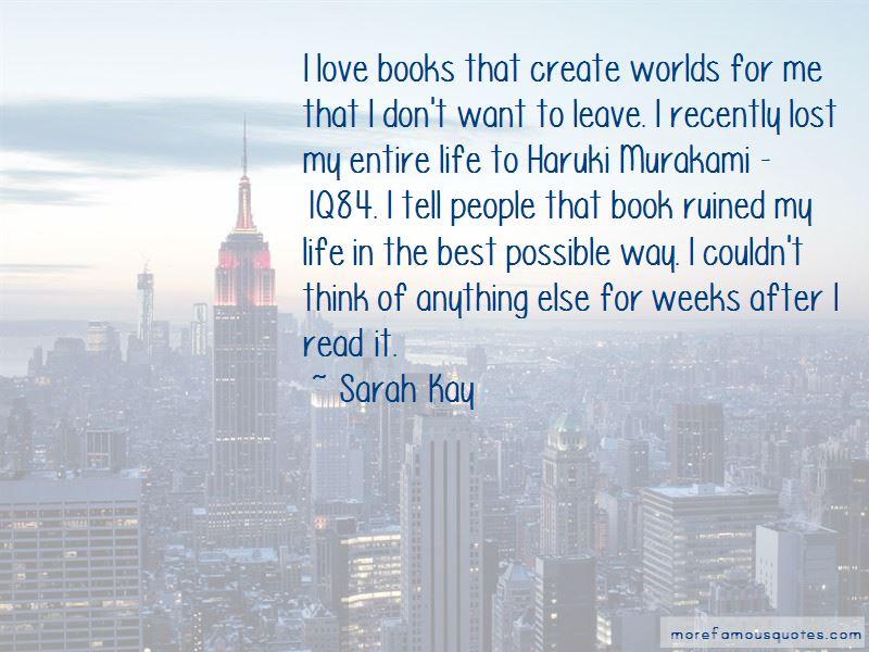 1q84 Book Quotes