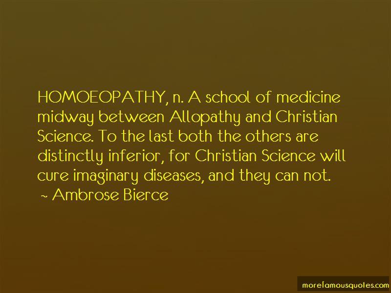 Allopathy Quotes
