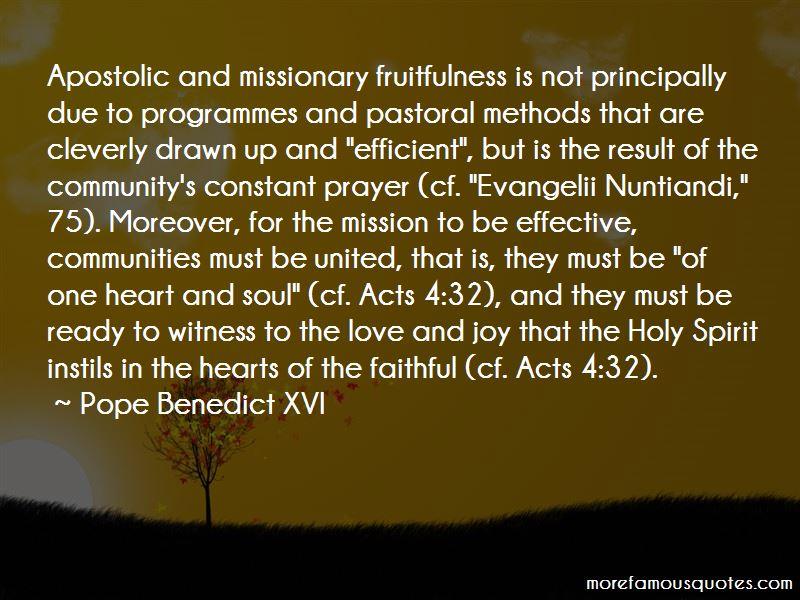 Apostolic Prayer Quotes Pictures 2