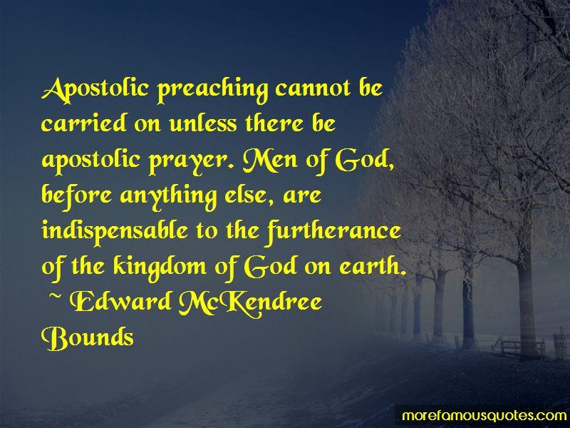 Apostolic Prayer Quotes