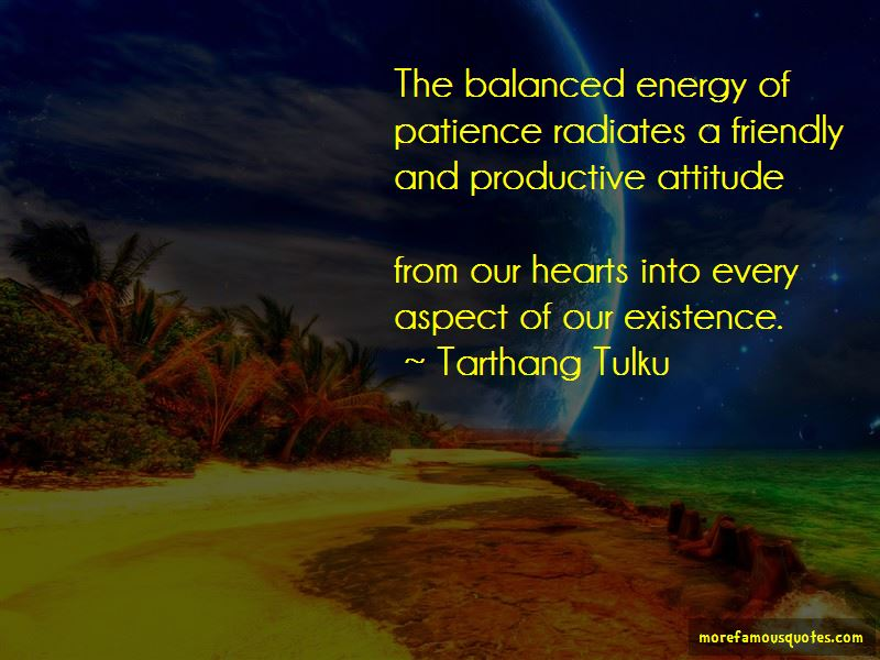 Balanced Energy Quotes