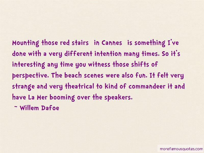 Beach Scenes Quotes