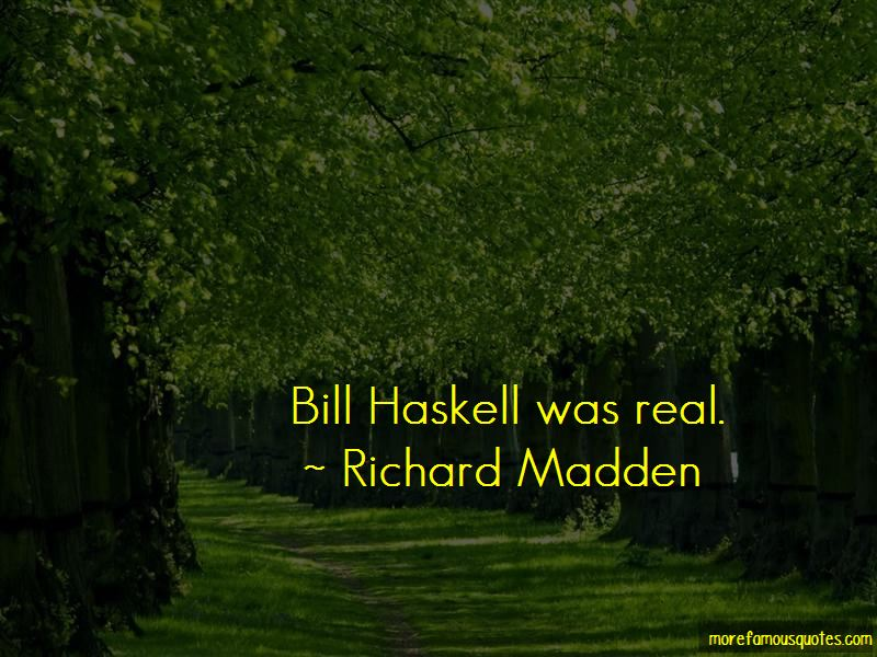 Bill Haskell Quotes