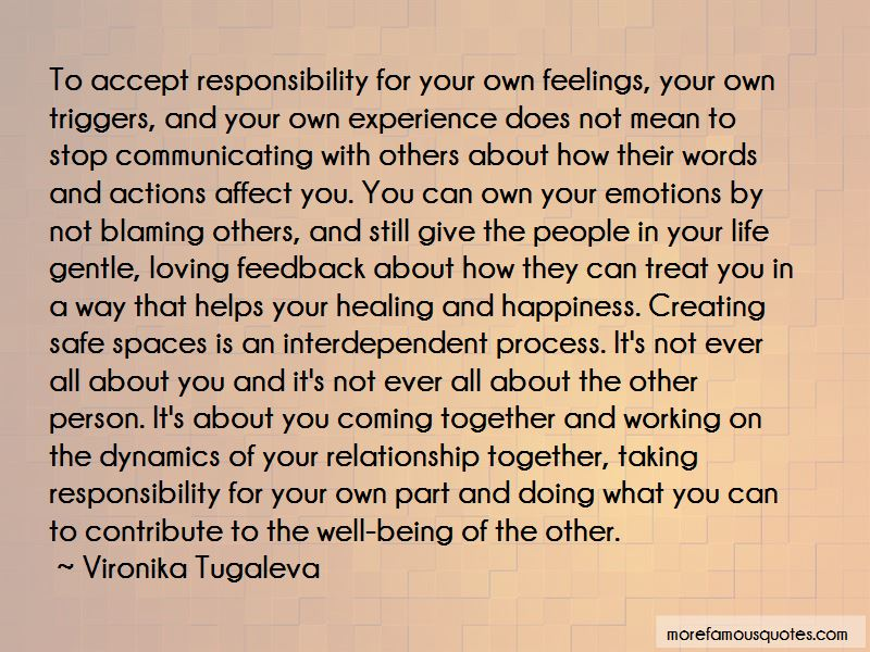 Blaming Others For Your Life Quotes Pictures 3