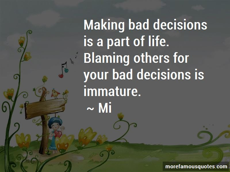 Blaming Others For Your Life Quotes