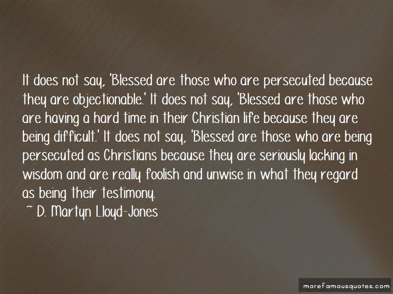 Blessed Are Those Who Are Persecuted Quotes Pictures 2