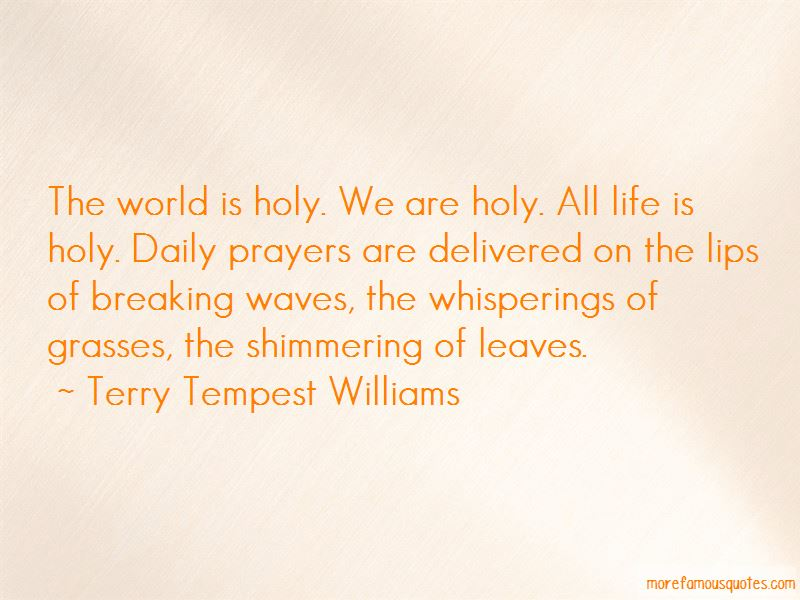 Breaking Waves Quotes