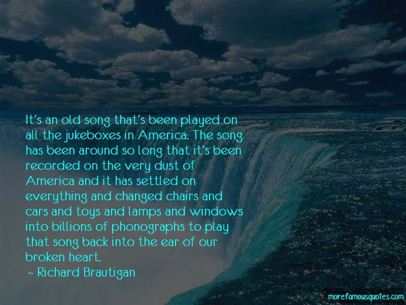 Broken Heart Song Quotes Top 21 Quotes About Broken Heart Song From