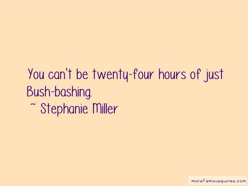 Bush Bashing Quotes